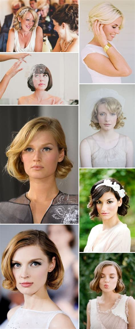 Bridal Hairstyles For Bobbed Hair by Bridal Hairstyles For Bobbed Hair Trend Hairstyle And