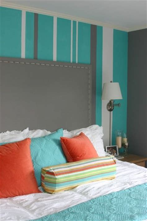 wallcovering bedroom children s bedroom turquoise bedroom with striped walls striped wall