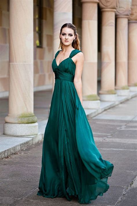 25 best ideas about emerald green wedding dress on