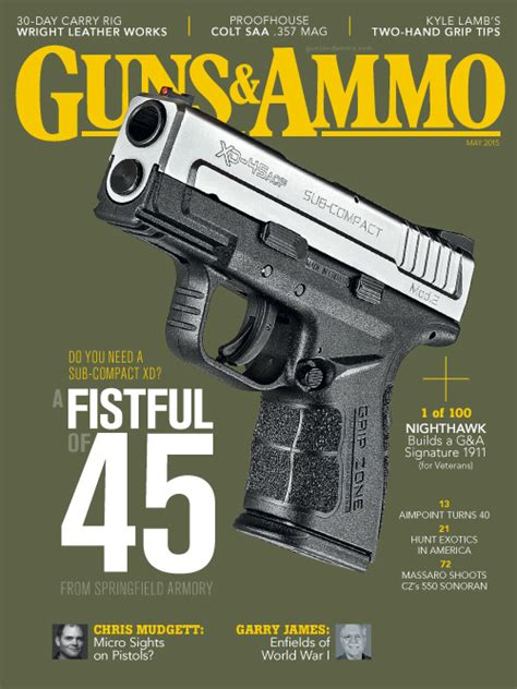guns ammunition and tackle classic reprint books guns ammo may 2015 187 pdf magazines archive