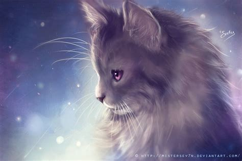 painting kitten kitten painting by mistersev7n on deviantart