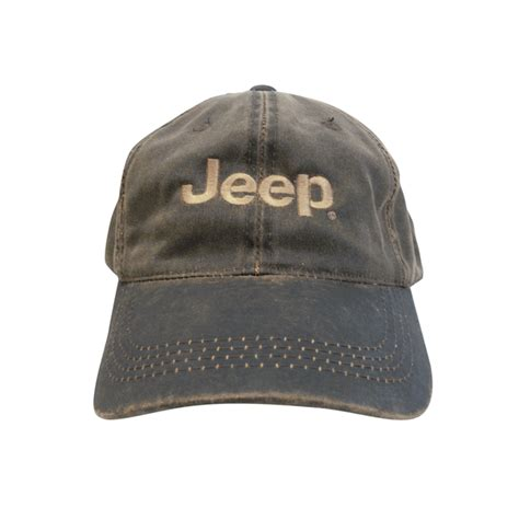 Jeep Caps All Things Jeep Jeep Weathered Cotton Twill Cap