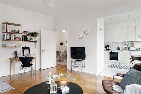 inspirational small apartment decorating ideas stylish eve stylish swedish studio apartment lives large