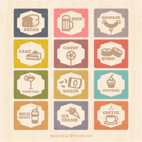 alimenti on line cart 227 o do menu do vintage 237 cones do alimento baixar