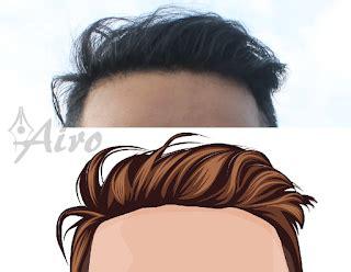 tutorial vektor rambut tutorial membuat gambar vector photoshop dengan mudah