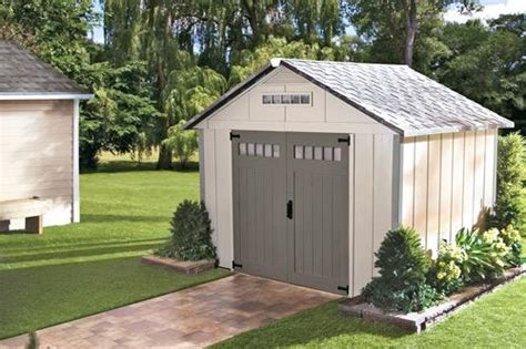 outdoor storage shed ideas  home depot canada