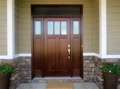 Fiberglass Front Doors Painting Ideas With Finished Color Painting A Front Door Tips
