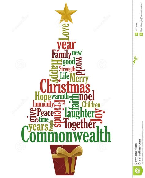 xmas tree with words on it in clipart clipart suggest