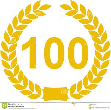 100 liegestütze de guirnalda laurel n 250 mero 100 fotograf 237 a de archivo
