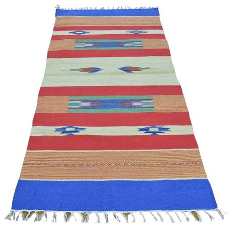 navajo rug runner flat weave kilim woven runner navajo design rug southwestern and stair