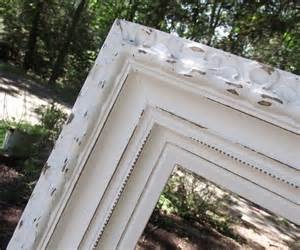large shabby chic frame serendipity chic design shabby chic distressed frame