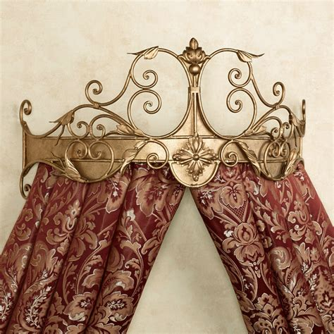 bed crowns tarleton wall teester bed crown
