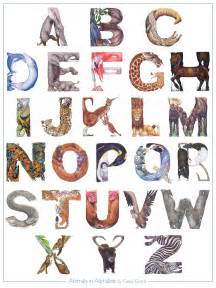animals in alphabet illustration and musings