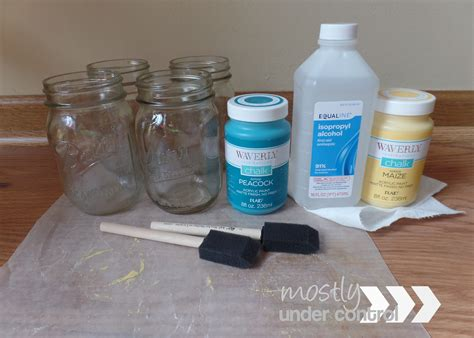 chalk paint glass painting glass with chalk paint mostly
