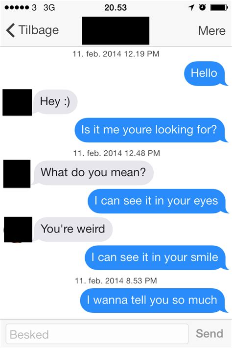 7 Conversational Gambits For That You Like by 20 Delightfully Awkward Tinder Conversations Will