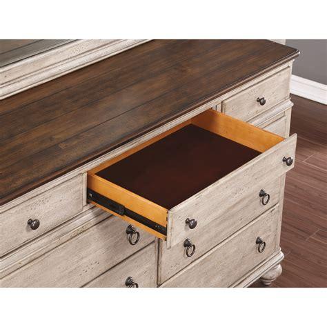 false bottom drawer flexsteel wynwood collection plymouth cottage 9 drawer