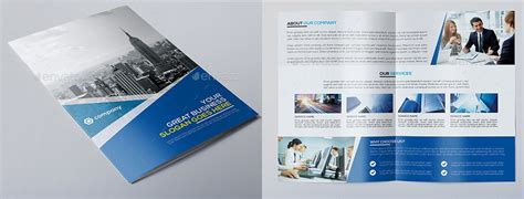 corporate brochure template best resumes