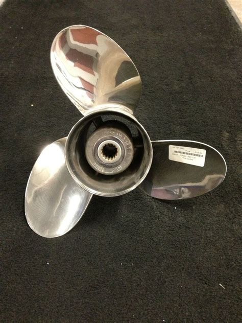 turbo boat props 13 pitch new turbo for omc johnson evinrude 3 blade
