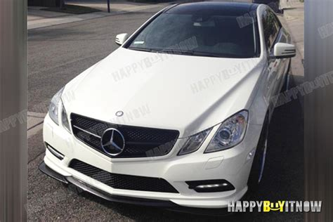 Bemper E Class Coupe W207 Amg Prefacelife 09 13 mercedes w207 2d amg package use godhand front bumper lip splitter ebay