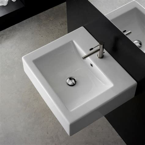 Awesome Bathroom Sinks by Sinks Awesome Square Bathroom Sinks Scarabeo 06 11 010