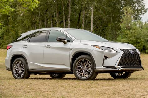 lexus suvs rx 2016 lexus rx 450h f sport market value what s my car worth
