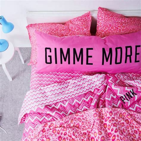 pink victoria secret bedding vs bedding gimme more victoria s secret pink pinterest