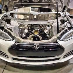 Does Tesla A Gas Engine Ebmc S Topsecret Project Tesla Model Ls3 Anyone