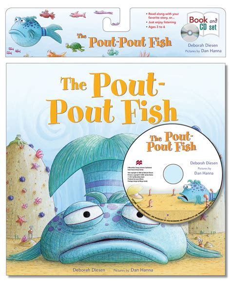 the pout pout fish pout pout the pout pout fish book cd set review and giveaway mommy ramblings