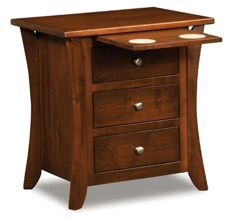 Rustic Amish Bedroom Furniture Solid Wood Night Stands