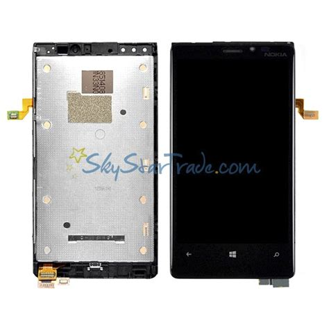 Lcd Touchscreen Nokia Lumia 920 Frame Original nokia lumia 920 lcd screen display with digitizer touch panel and faceplate frame