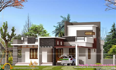 kerala home design 1000 sq ft 1000 square feet house kerala home design and floor plans