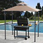 archfield hard top gazebo better homes and gardens wingfield top grill gazebo 7 2 x 4 9 walmart
