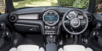 Interior Mini Cooper 2017 Mini Cooper Convertible Review Specs And Price