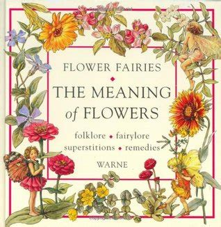 flower books flower fairies the meaning of flowers by cicely