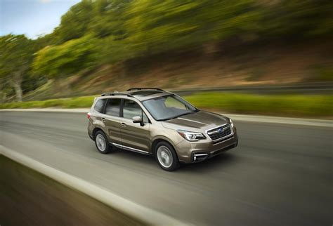subaru forester price 2017 subaru forester us pricing announced