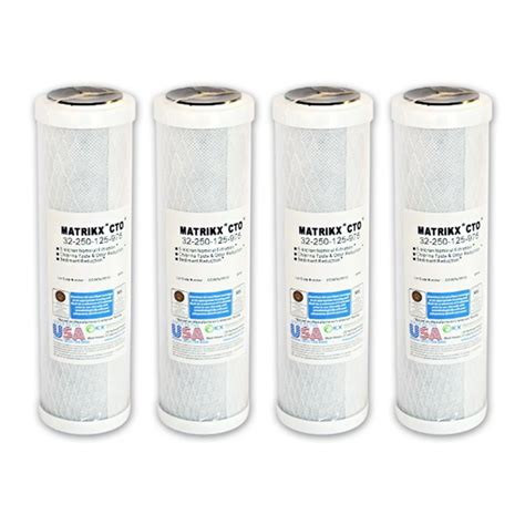 Cto Coconut 10 Bb matrikx cto 2 genuine water filter water filter for fridge