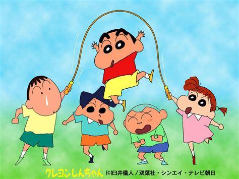 crayon shin chan crayon shin chan anime wallpaper