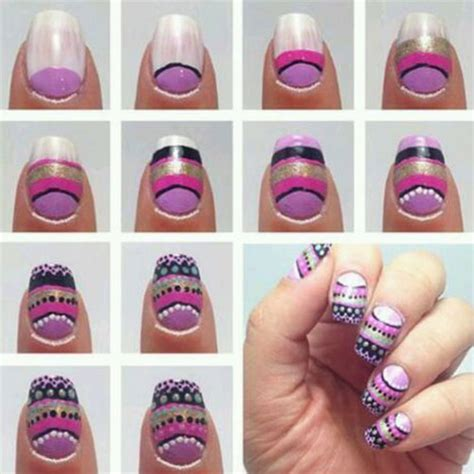 nail art drawing tutorial simple nail art tutorial for short nails nail art styling