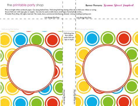 printable elmo banner printable banners templates free banner squares big dots