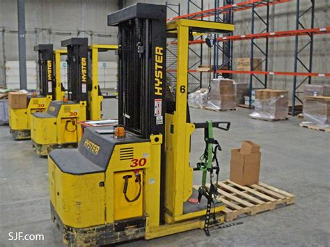 used order picker forklifts sjf