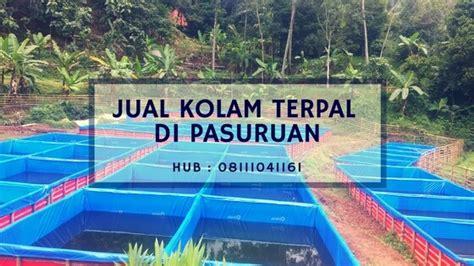 Jual Kolam Terpal Pasuruan jual kolam terpal di pasuruan hub 08111041161
