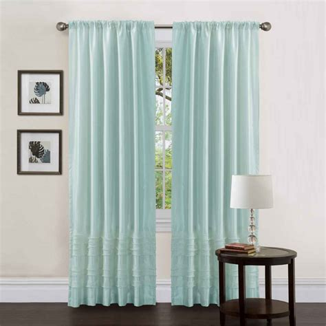 simple curtains briliant idea simple and blue curtain bedroom decosee com