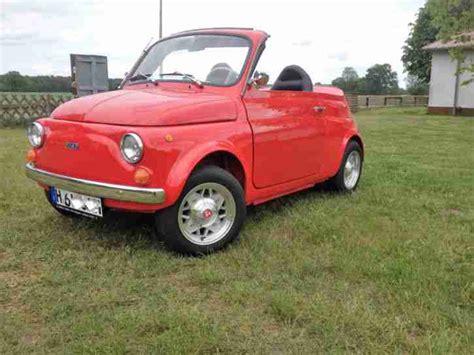 Motorrad Verkauf Zulassung by Fiat 500 Cabrio Oldtimer H Zulassung Hei 223 Er Verkauf Der