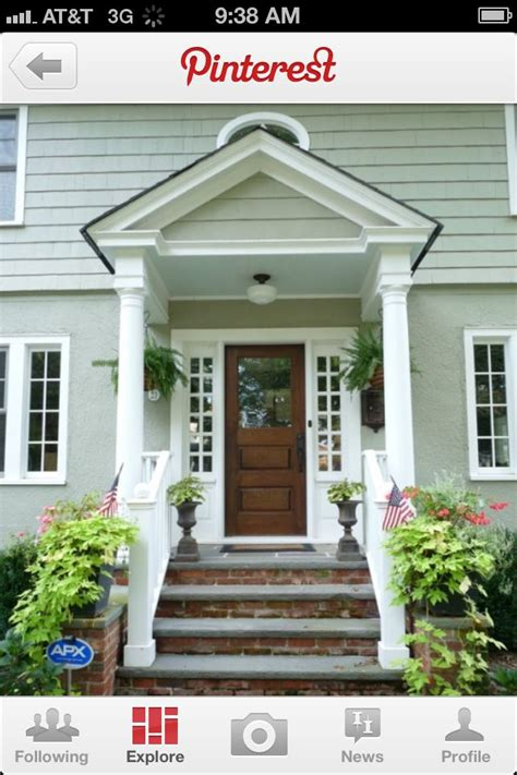 awning front door front door awning addition door awning pinterest beautiful house tours and window