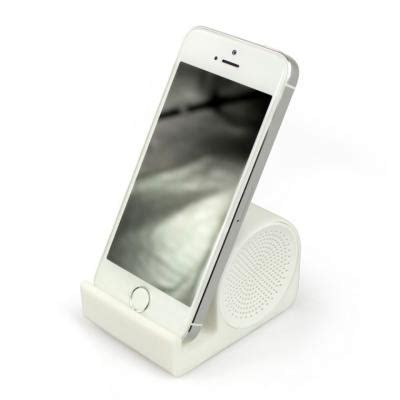 smart l with speaker promotional smart speaker stand soft touch silicone