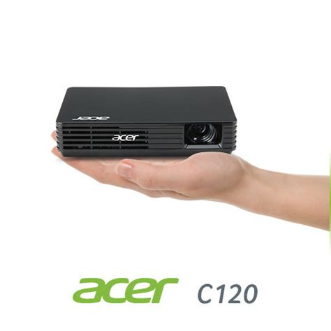 Proyektor Acer C120 acer c120 fwvga dlp pico projector 100 lumens electronics
