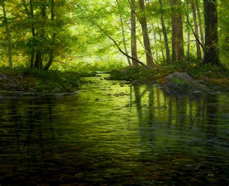 imagenes de paisajes oleo im 225 genes arte pinturas oleos fant 193 sticos paisajes realistas