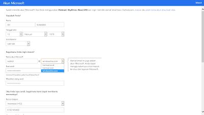 membuat email windows phone cara membuat email di windows live atau hotmail idi suwardi