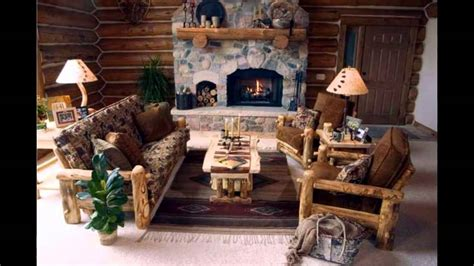 cabin style home decor fascinating log cabin decor ideas youtube