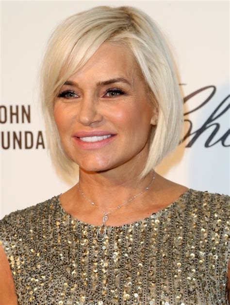 yolanda hair beverly housewives flattering bob hairstyles for older women yolanda foster